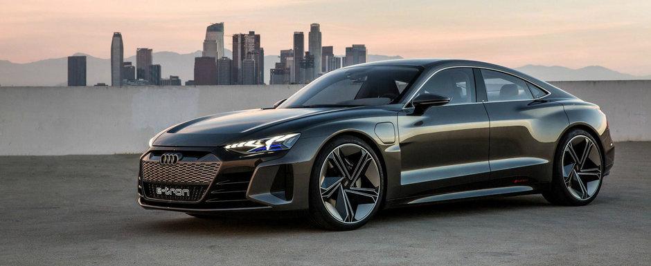 Mercedes si BMW au dat de belea. Noua masina de la Audi e un super-sedan cu platforma si motor de Porsche