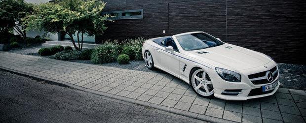 Mercedes SL by Graf Weckerle - Atunci cand yachturile si masinile se intalnesc