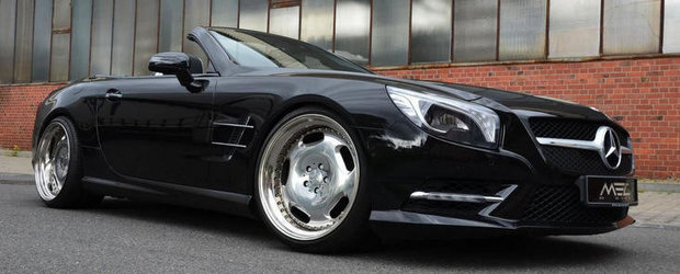 Mercedes SL by MEC Design - Stil modern, cu influente retro