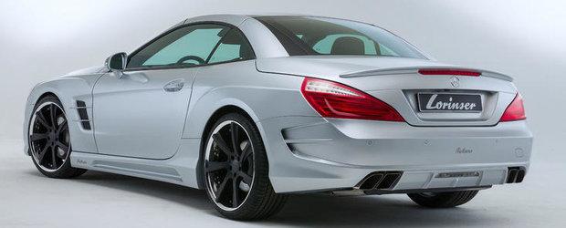 Mercedes SL modificat de Lorinser