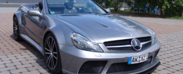Mercedes SL63 AMG Black Series  Decapotabil si mai putin scump