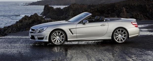 Mercedes SL63 AMG primeste o infuzie de putere. Modelul va oferi 585 CP