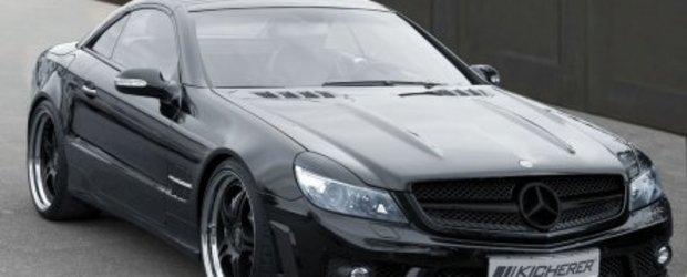 Mercedes SL63 RS tunat de Kicherer
