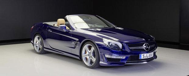 Mercedes SL65 AMG debarca in showroom-uri, poate fi al tau pentru 246 mii euro
