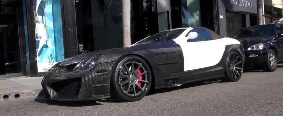 Mercedes SLR McLaren by Mansory, surprins recent pe strazile din Los Angeles