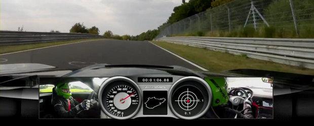 Mercedes SLS AMG Black Series da piept cu provocarea suprema: circuitul de la Nurburgring