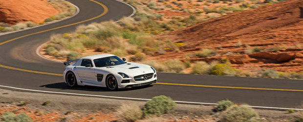 Mercedes SLS AMG Black Series isi face debutul cinematografic