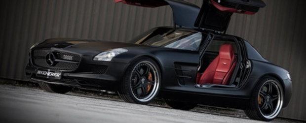 Mercedes SLS AMG by Kicherer - Gullwing se pregateste de Batman