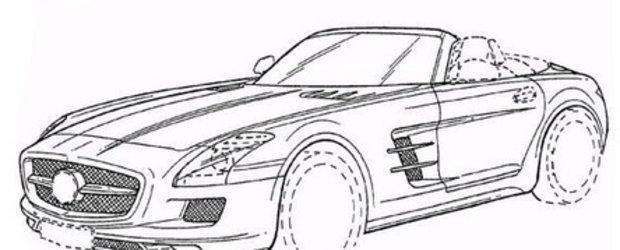 Mercedes SLS AMG Roadster (aproape) dezvaluit