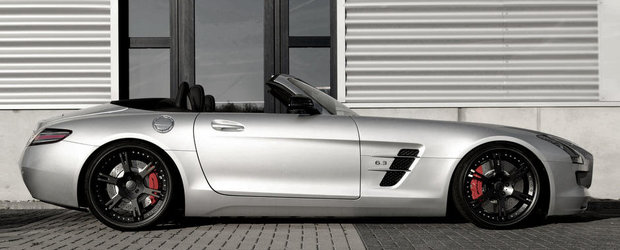 Mercedes SLS AMG Roadster by Wheelsandmore - Sa fie cu 635 sau 704 cai putere?