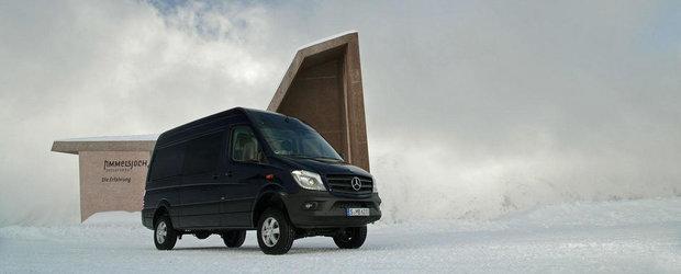 Mercedes Sprinter primeste tractiune integrala