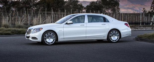 Mercedes te invita sa descoperi noul Maybach S-Class in peste 50 de imagini