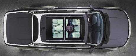 Mercedes-ul 6x6 paleste in fata creatiei unui neamt. La baza este un Range Rover, dar are punte dubla pe spate