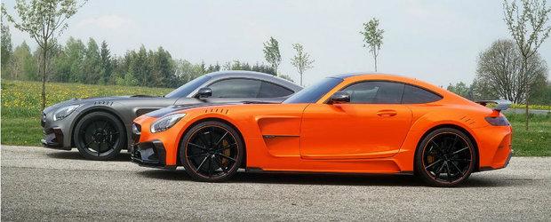 Mercedes-ul AMG GT S primeste de la Mansory o paleta de culori demna de curcubeul Skittles