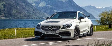 Mercedes-ul C63 devine un zeu al aerodinamicii cu ajutorul celor de la Prior Design