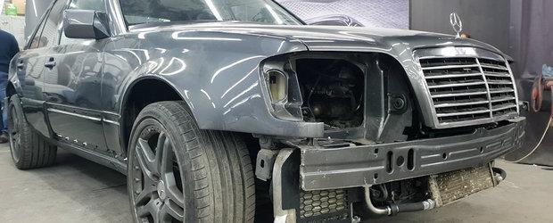 Mercedes-ul care a impartit internetul in doua. Modelul construit in serie limitata a primit un transplant neobisnuit de motor