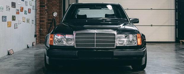 Mercedes-ul care a impartit internetul in doua. Motorul original a fost inlocuit cu unul de la BMW