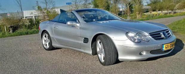 Mercedes-ul care a pierdut aproape 200.000 de euro in 12 ani. Cu cat se vinde acum acest superb SL600