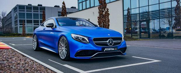 Mercedes-ul de 730 de cai care poate sta fara nicio problema langa un Aventador S