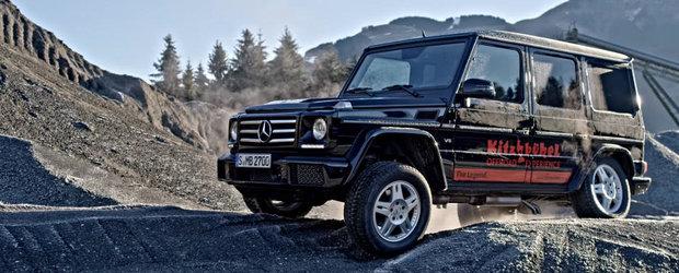 Mercedes-ul G-Class ar putea merge si pe Luna. Uite un test de off-road extrem cu SUV-ul german in cele mai neprietenoase conditii
