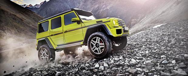 Mercedes-ul G500 4x4² intra in productia de serie, porneste de la 226.100 euro