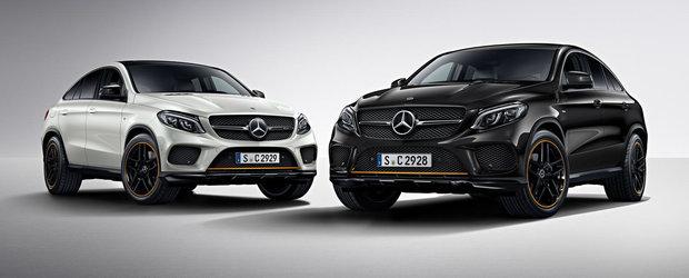 Mercedes-ul GLE Coupe isi surprinde fanii cu noua editie speciala OrangeArt