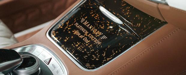 Mercedes-ul pe care numai un singur om il poate avea. A fost construit doar intr-un singur exemplar