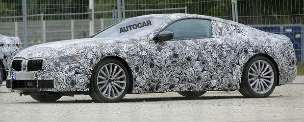 Mercedes-ul S-Class incepe sa tremure. Un nou BMW Seria 8 se pregateste de lansare