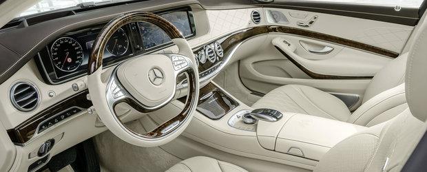 Mercedes-ul S-Class tot mai aproape de a se conduce complet singur