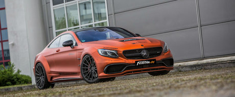 Mercedes-ul S63 AMG primeste modificari pe banda rulanta. Ce propune cel mai recent pachet
