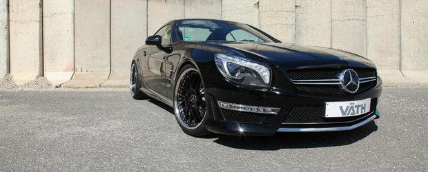 Mercedes-ul SL 65 AMG tunat de nemtii de la VATH