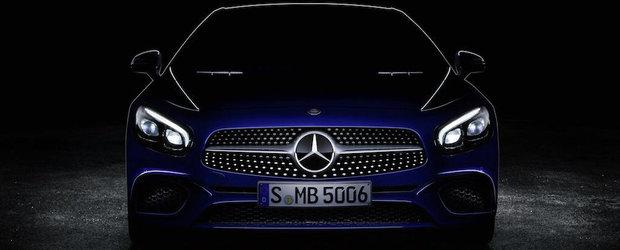 Mercedes-ul SL ne arata noua sa fata inaintea Salonului Auto de la Los Angeles
