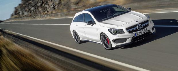 Mercedes-urile CLA si GLA45 AMG revin din septembrie cu 381 CP sub capota