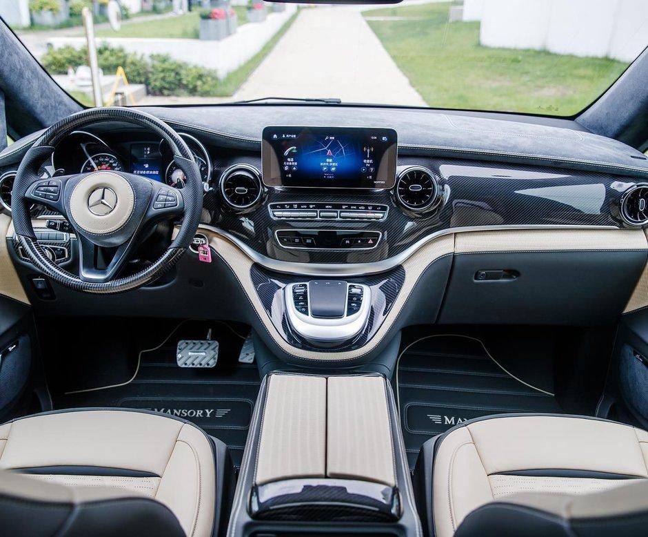 Mercedes V-Class de la Mansory