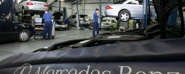 Mercedes: Verificare de primavara, la un pret special