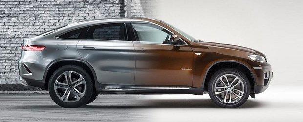 Mercedes vrea o felie din tortul BMW: Concept Coupe SUV, rival pentru X6