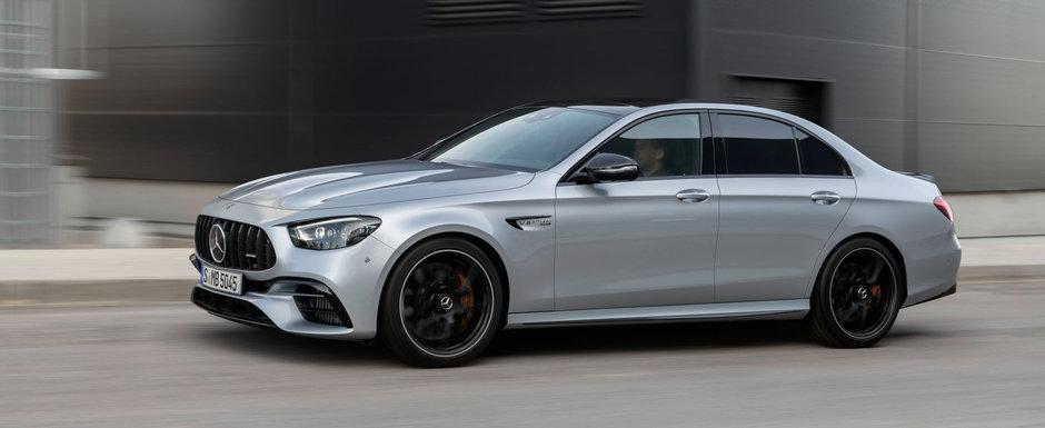 Mercedes vrea sa te faca deja sa uiti de noul M5 si publica primele fotografii ale mult anticipatului E63 AMG Facelift