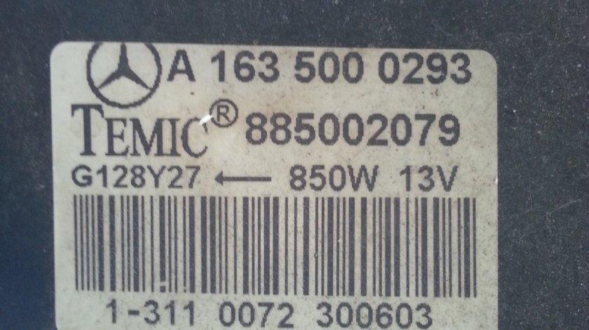 Mercedes W163 ML270 CDI Ventilator Racire si Radiator Apa 1998 2005