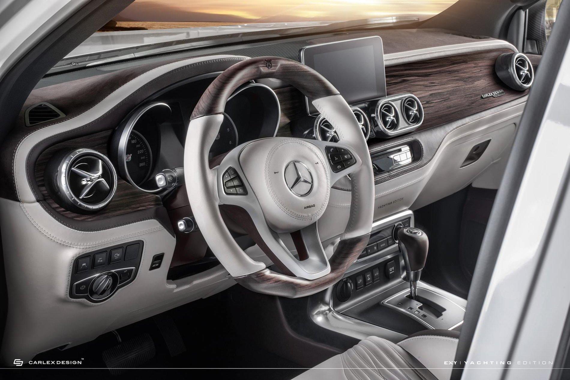 Mercedes X-Class de la Carlex Design - Mercedes X-Class de la Carlex Design