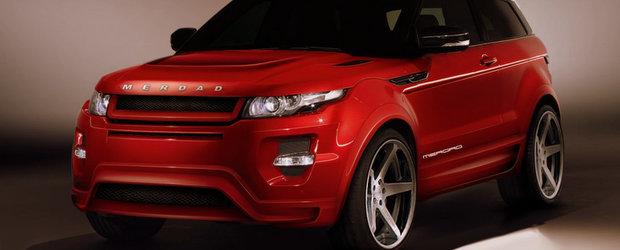 Merdad MerNazz: Noul Range Rover Evoque este un demon printre crossovere