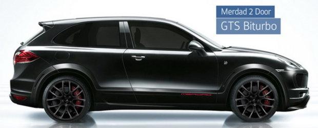 Merdad transforma noul Porsche Cayenne intr-un... SUV Coupe!