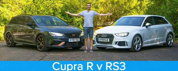 Merita Audi-ul 10.000 de euro in plus? Test comparativ intre RS3 si Cupra R