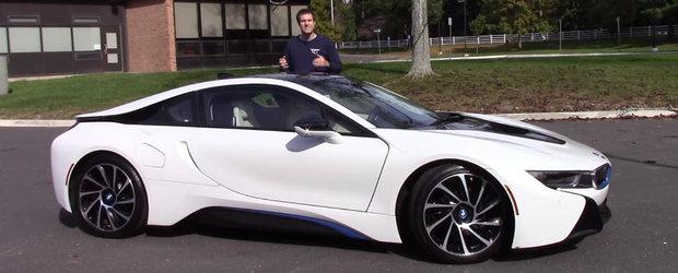 Merita sa dai peste 170.000 de euro pe un BMW i8? Raspunsul il afli in acest video