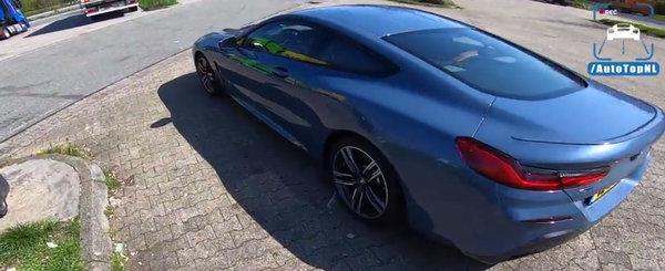 Merita sa fie pe un SERIA 8? TEST de acceleratie cu prima versiune DIESEL din istoria BMW