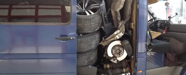 Metoda ingenioasa prin care un ROMAN a transportat un BMW X6 FURAT