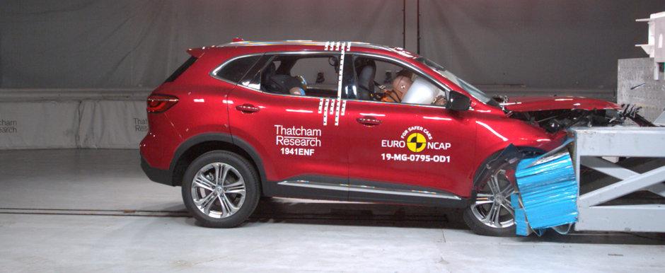 MG HS scrie istorie. Este primul SUV fabricat in China care obtine 5 stele la testele Euro NCAP