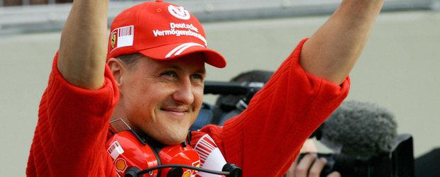 Michael Schumacher se intoarce azi acasa