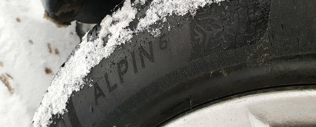 MICHELIN Alpin 6: cum se comporta dupa primii 1000 de kilometri in iarna