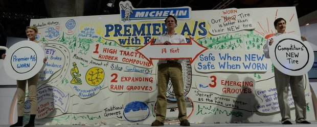 Michelin scoate pe piata anvelopele garantate 100.000km care devin mai bune in timp