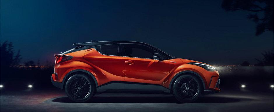 Mici modificari estetice si o motorizare cu 184 CP. Ce alte noutati aduce Toyota C-HR facelift